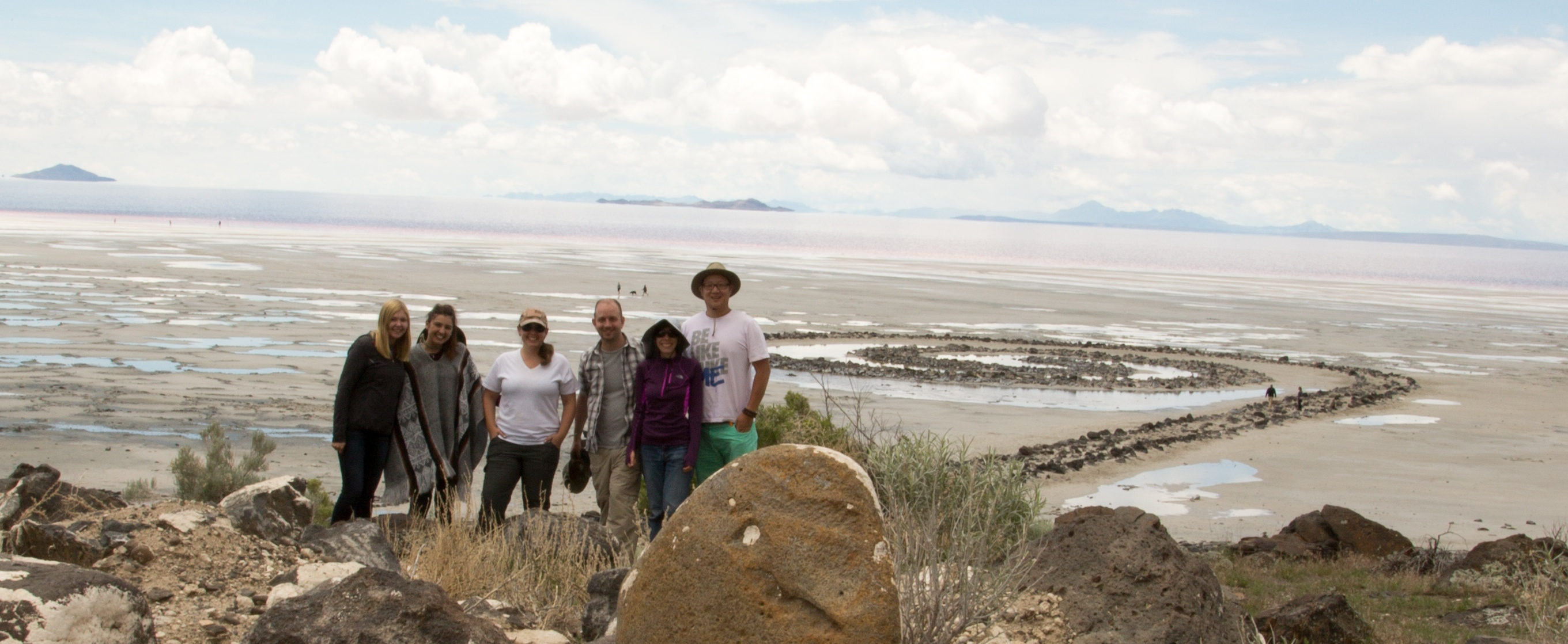 American Landscape Field Course at Spiral Jetty May 2015