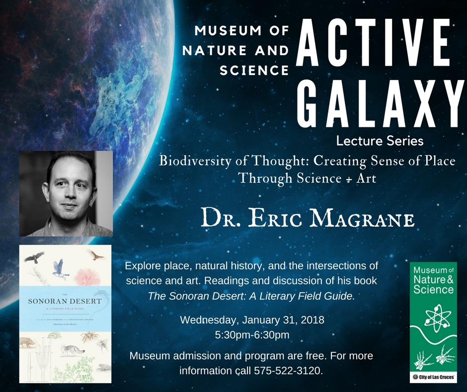 e5524aa3e6 eric magrane » Upcoming January 31 Event at Las Cruces Museum of ...